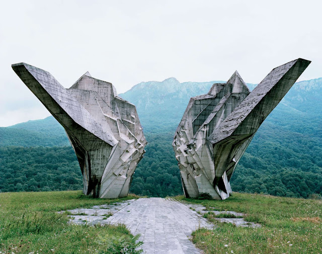 Yugoslavian Monument at Tjentište